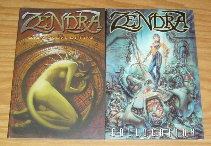 Zendra TPB 1-2 VF/NM complete series - collocation - heart of fire 2.0 1.0