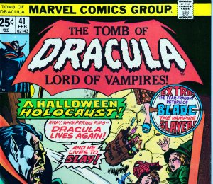 Tomb of Dracula(vol. 1) # 41  Very Fine/Near Mint Condition