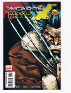 Weapon X Days Of Future Now # 1 Of 5 NM Marvel Comic Books Limited Series S93