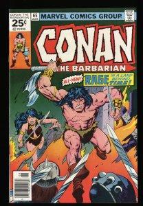 Conan The Barbarian #65 NM 9.4 Marvel Comics
