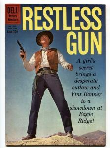 Restless Gun-Four Color Comics #1089 1960-Dell-John Payne TV photo cover-VF-