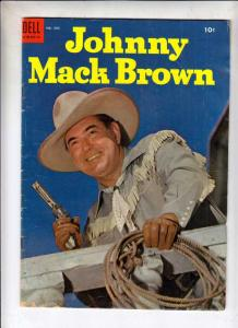 Four Color #584 (Oct-54) VG Affordable-Grade Johnny Mack Brown