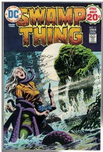SWAMP THING 11 F-VF  Aug. 1974