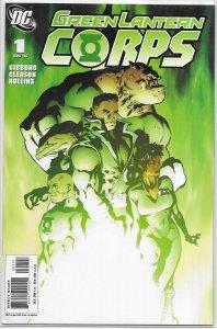 Green Lantern Corps (vol. 2, 2006) # 1 FN Gibbons/Gleason, Guy Gardner
