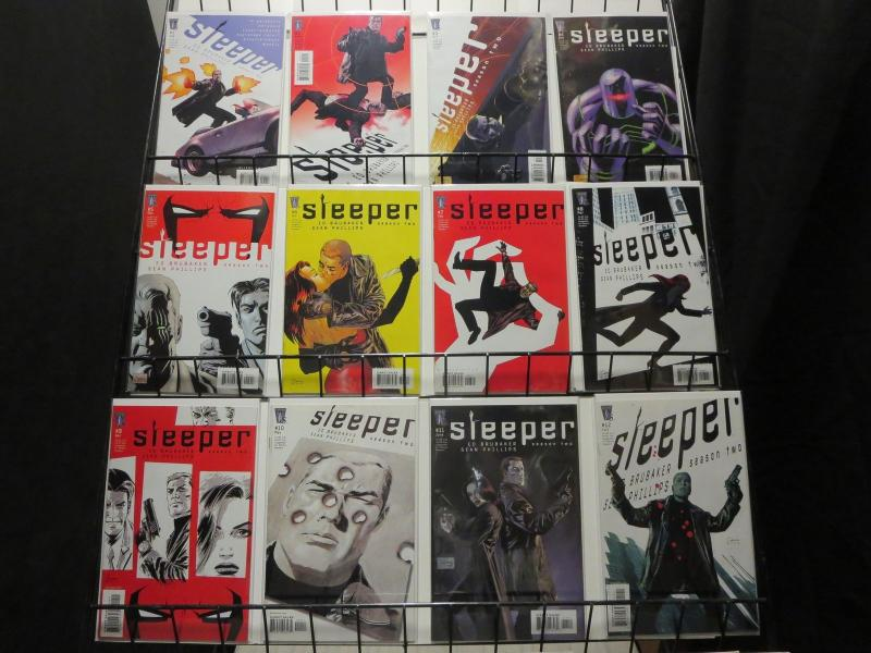 SLEEPER SEASON TWO (2004 WS) 1-12  COMPLETE 2ND SERIES!