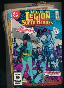 DC LOT OF 12- LEGION OF SUPER-HEROES #318-325,327,332,336,288,289 (PF365)