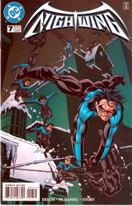 Nightwing(vol. 1) # 2,3,4,5,6,7,8,9,10 1st Appearance of Lady Vic
