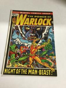 Warlock 1 The Power Of Fn Fine 6.0 Marvel