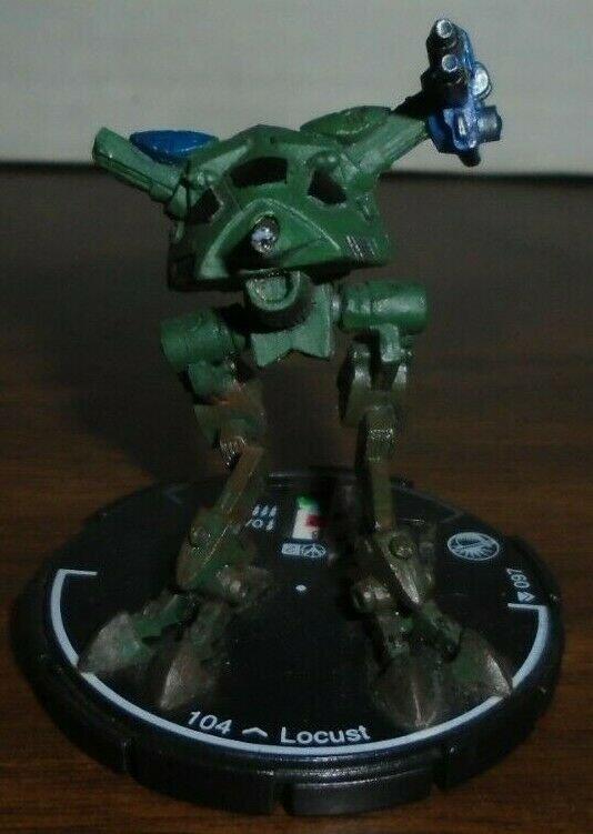 Locust 097 Mechwarrior NO DOSSIER