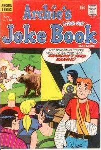 ARCHIES JOKE BOOK (1954-1982)154 VG Nov. 1970 COMICS BOOK