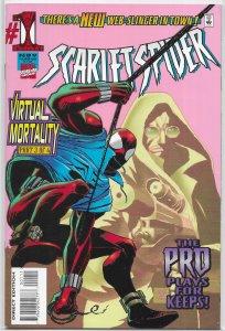 Scarlet Spider (vol. 1, 1995) #1 VG (Virtual Mortality 3) Mackie/Kane/Palmer