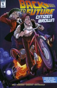Back To The Future: Citizen Brown #1 VF; IDW | save on shipping - details inside