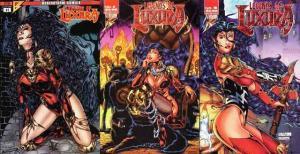 LEGENDS OF LUXURA (1996 BRAINSTORM) 1-3  COMPLETE!!!