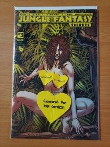Jungle Fantasy Secrets #3 Lorelei Feral Nude Variant Cover