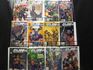 G.I. JOE IMAGE Comics Lot of 28 Cobra Snake Eyes F-VF/+