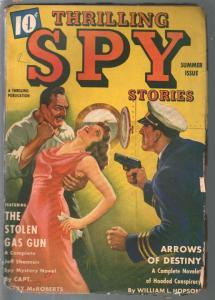 Thrilling Spy Stories-Spring 1940-hero pulp-The Eagle-Ellsworth-pulp thrills-FR/
