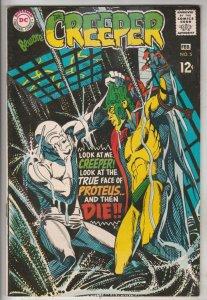 Creeper, Beware The #5 (Aug-68) FN/VF Mid-High-Grade Creeper