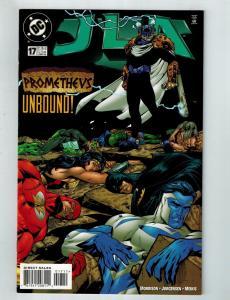 JLA # 17 NM DC Comic Book Batman Superman Justice League Flash Hawkman Atom S75