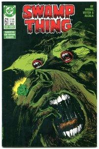 Swamp Thing #61 1967- DC Comics- Alan Moore- Green Lantern NM-