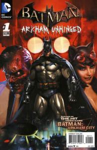 Batman: Arkham Unhinged #1 VF; DC | save on shipping - details inside