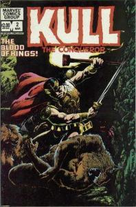 Kull the Conqueror (1982 series) #2, VF+ (Stock photo)