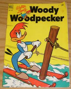 Four Color #416 VG+ september 1952 - woody woodpecker - walter lantz golden age