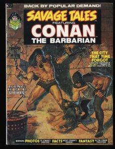 Savage Tales #2 FN/VF 7.0 Featuring Conan the Barbarian!
