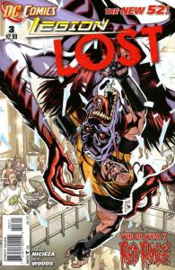 Legion Lost (2nd Series) #3 VF/NM; DC | save on shipping - details inside