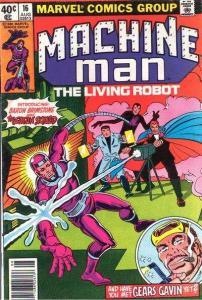 Machine Man (1978 series) #16, VF- (Stock photo)