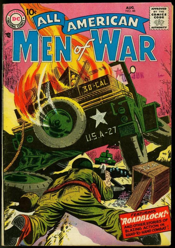 All American Men of War #48 1957- Joe Kubert- Mort Drucker FN+