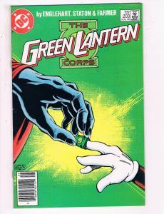 Green Lantern #203 VF DC Comics Modern Age Comic Book DE21