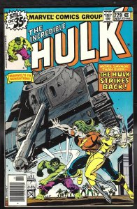 Incredible Hulk 229 VF 8.0 Marvel Leader 1978 FREE SHIP