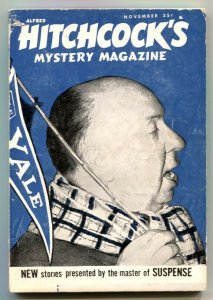 Alfred Hitchcock's Mystery Magazine November 1962- pulp