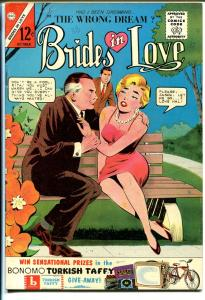 Brides in Love #38 1963-terrific art-spicy poses-VG