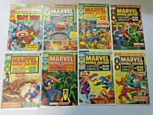 Marvel Double Feature Near Set:#1-21 Missing:#8+18, 19 Diff. 5.0, 4.0-6.0 (1973)