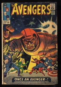 Avengers #23 GD+ 2.5 Kang 1st Ravonna Renslayer!