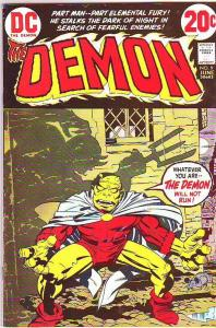 Demon, The #9 (Jun-73) VF+ High-Grade Jason Blood, Merlin
