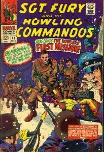 Sgt. Fury #44, Good+ (Stock photo)