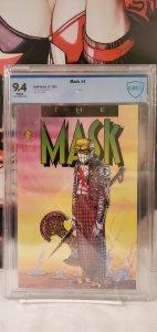 The Mask #4 - CBCS 9.4 - Written by JOHN ARCUDI. Art & cover by DOUG MAHNKE