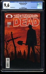 Walking Dead #6 CGC NM+ 9.6 White Pages