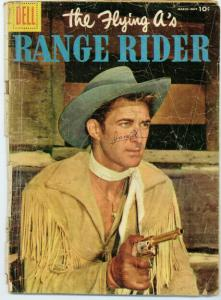 FLYING AS RANGE RIDER (1952-1959 DELL) 13 FR-G PHOTOCOV COMICS BOOK