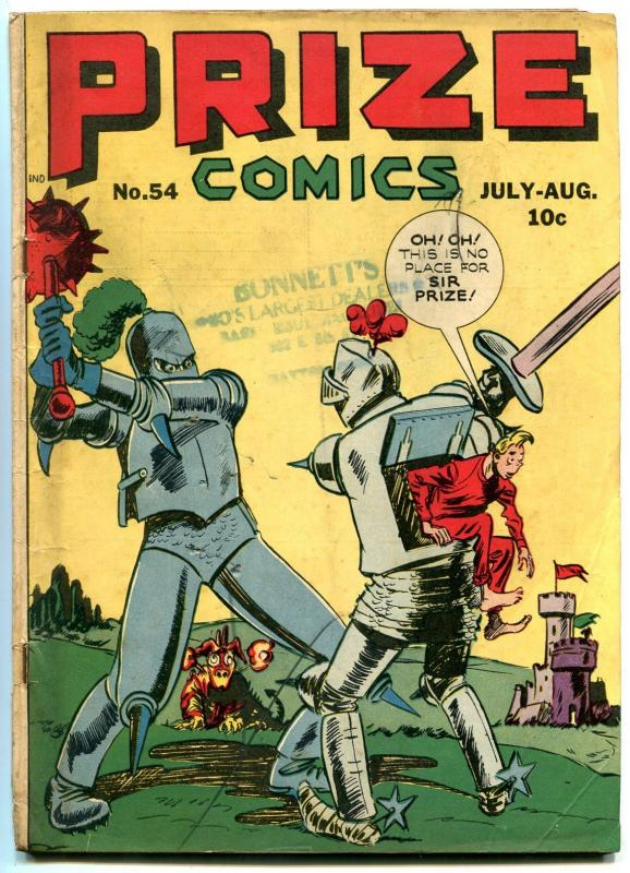 Image result for prize comics 54