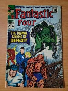 Fantastic Four #58 ~ FINE - VERY FINE VF ~ 1967 Marvel Comics