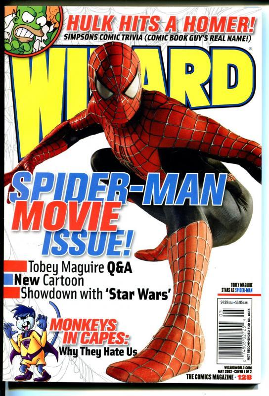 Wizard-5/2002-Comic Collectors Magazine-Spider-man-FN