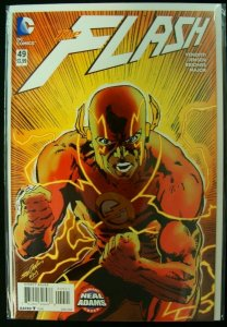 DC Flash #49 Neal Adams Variant Cover The New 52