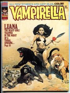 Vampirella #31 1974-Warren-Frazetta-Luana-horror-mystery stories-VF+
