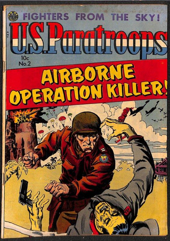 U.S. Paratroops #2 VG 4.0