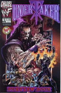 Undertaker #Ashcan 1A VF; Chaos | save on shipping - details inside