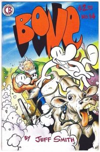BONE #14, NM-, Jeff Smith, Smiley, Phoney, Cartoon Books, more indies in store