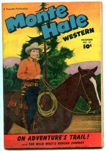 MONTE HALE WESTERN #31 1948--FAWCETT--MOVIE PHOTO COVER FN